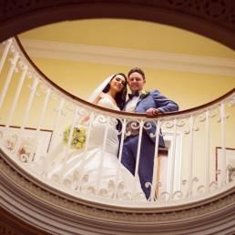 Ballymascanlon hotel staircase photography