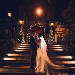Cabra Castle Christmas Wedding photography