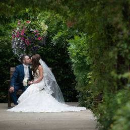 Carrickdale wedding photography garden