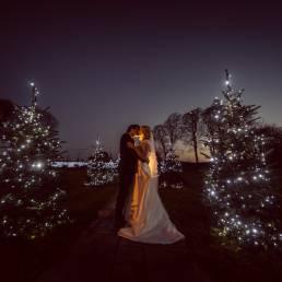 Darver Castle Christmas wedding photography