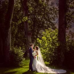 Darver Castle garden wedding photography