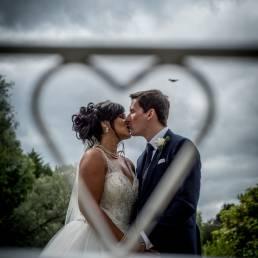 Galgorm wedding photography heart