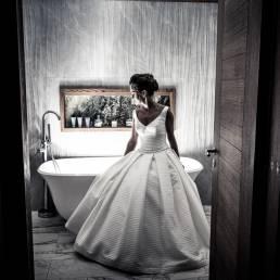 Galgorm wedding photography in bedroom