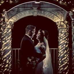 Lough Erne Resort Christmas wedding photography