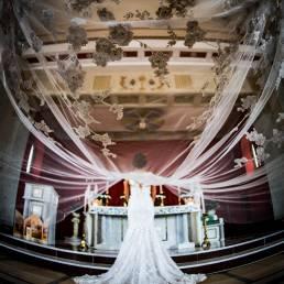 Under the veil photo - Northern Ireland Wedding Photography